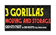 3 Gorillas Moving and Storage