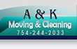 A & K Moving & Cleaning